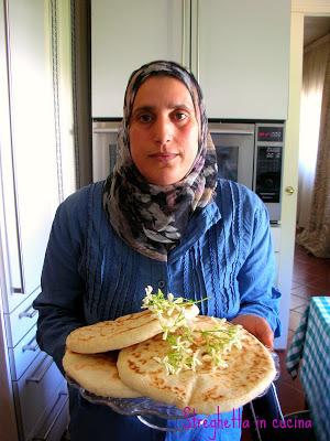 Il pane arabo...quello vero!