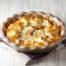 Torta salata con cavolfiore e pancetta