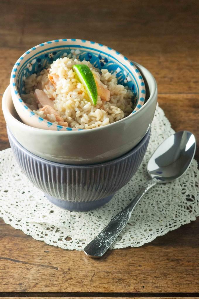 riso integrale salmone miele lime 2