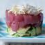 Tartare di tonno e avocado con maionese allo zenzero
