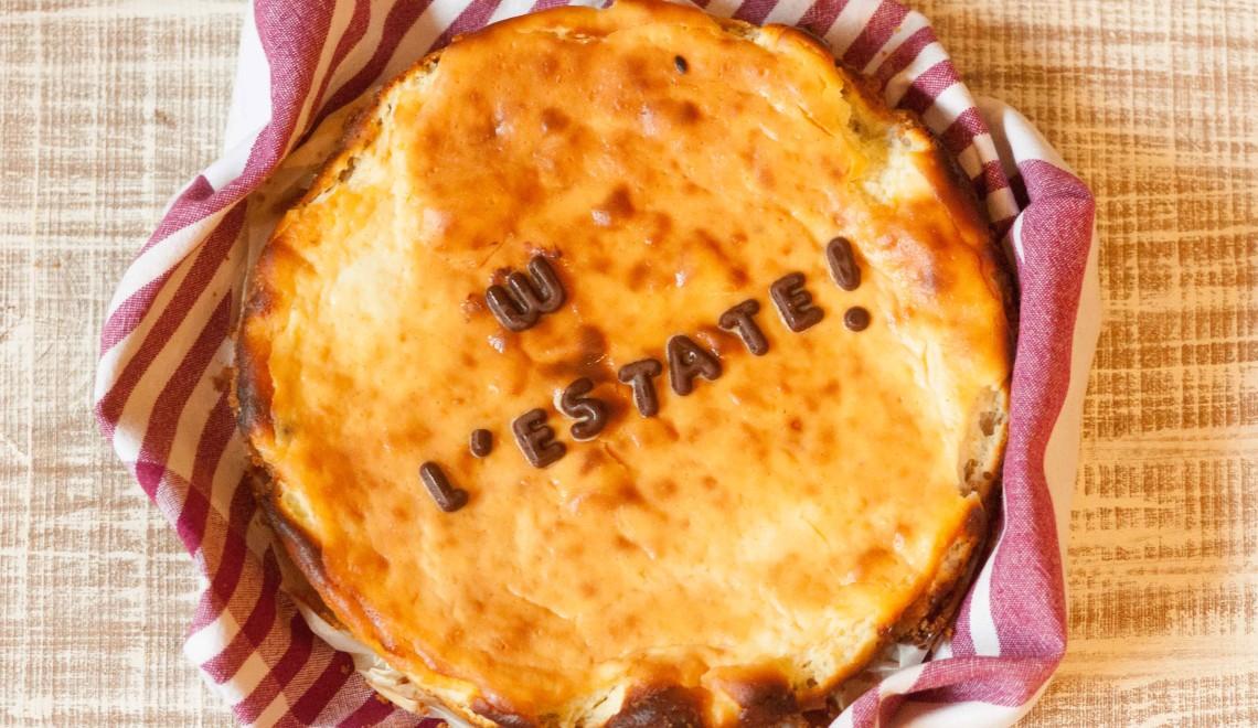 Cheesecake senza glutine alla vaniglia