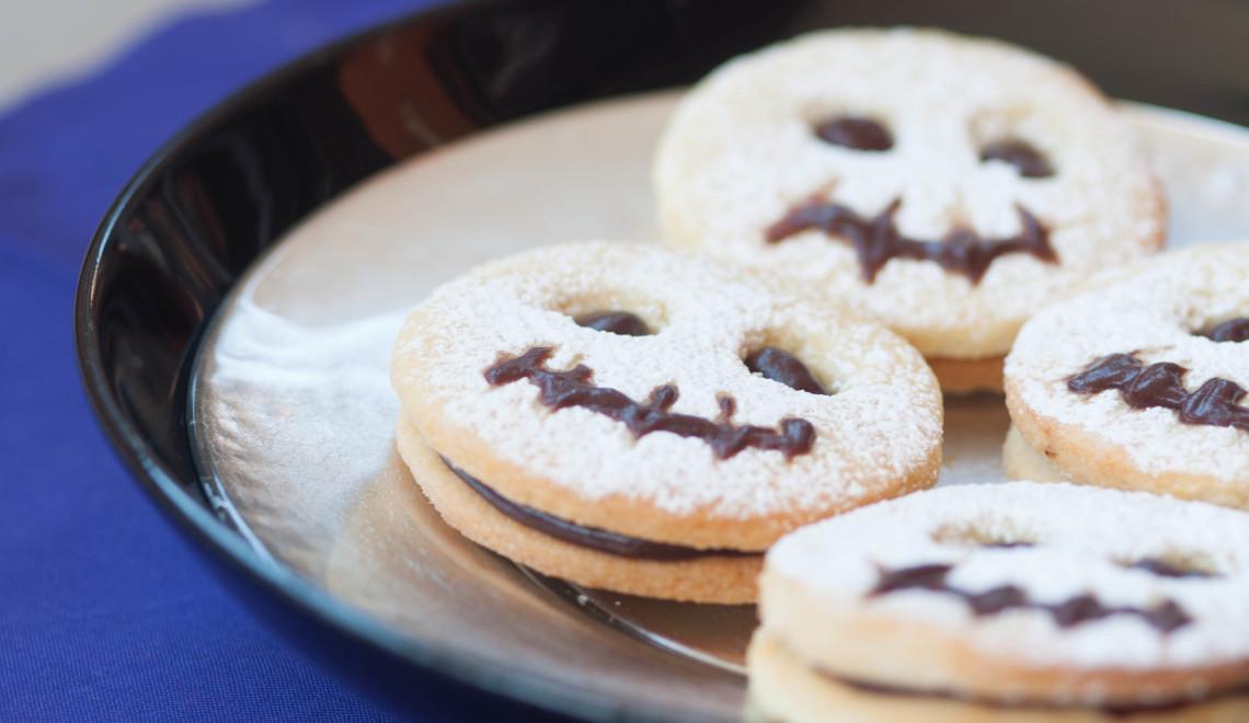 Biscotti fantasma per Halloween - Una Streghetta in Cucina