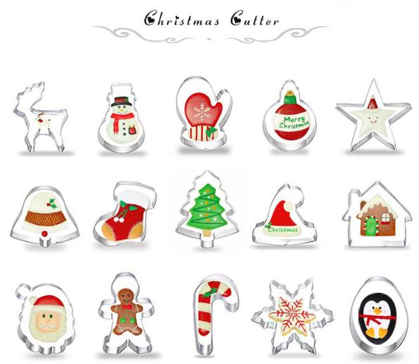Stampi Per Dolci Di Natale.Stampi Per Biscotti Di Natale Frismarketingadvies