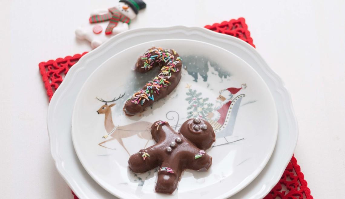 Budini natalizi al latte di cocco