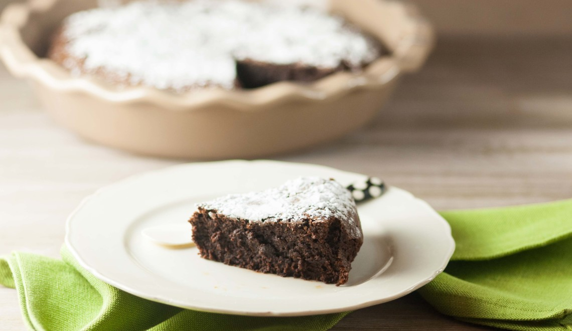 Torta morbida al cioccolato senza glutine