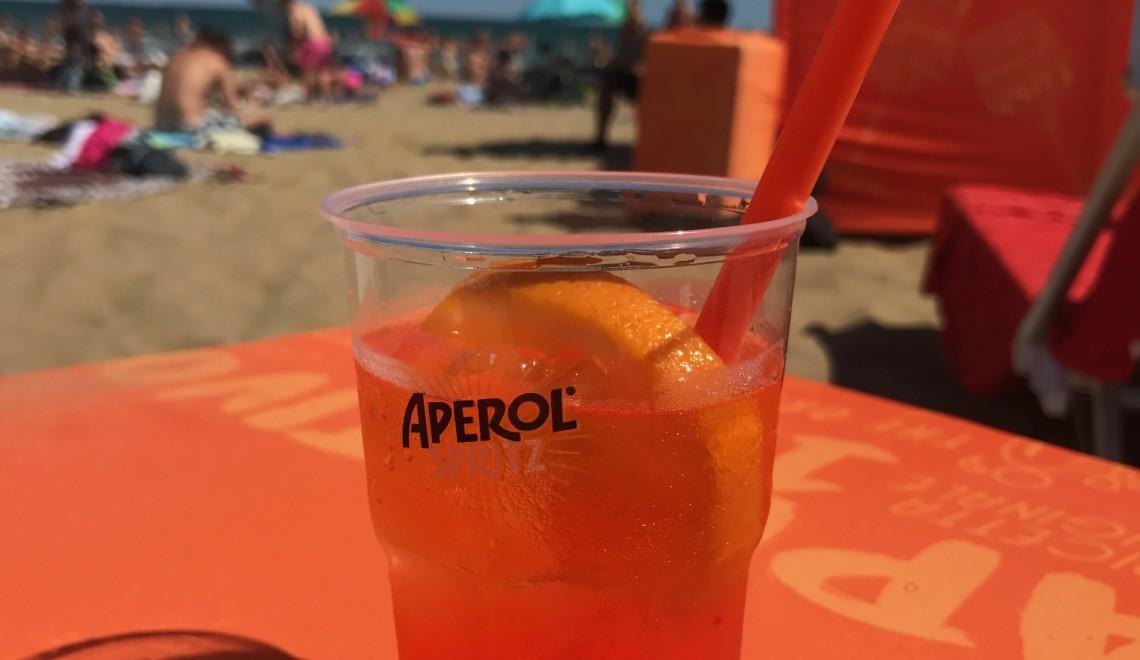 Il tour estivo dell'anfibio di Aperol Spritz