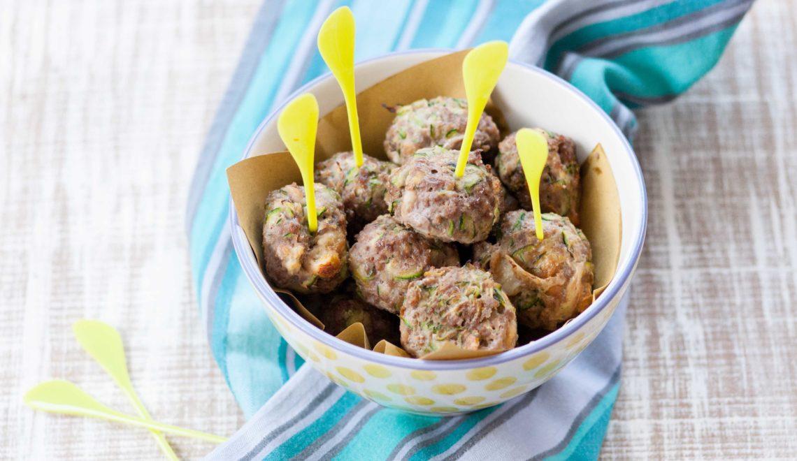 Polpette di carne con zucchine e limone