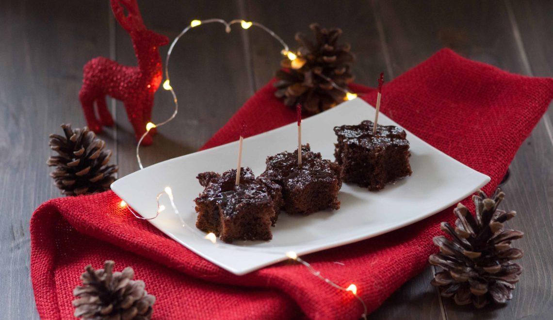 Stelline di cioccolato con caramello