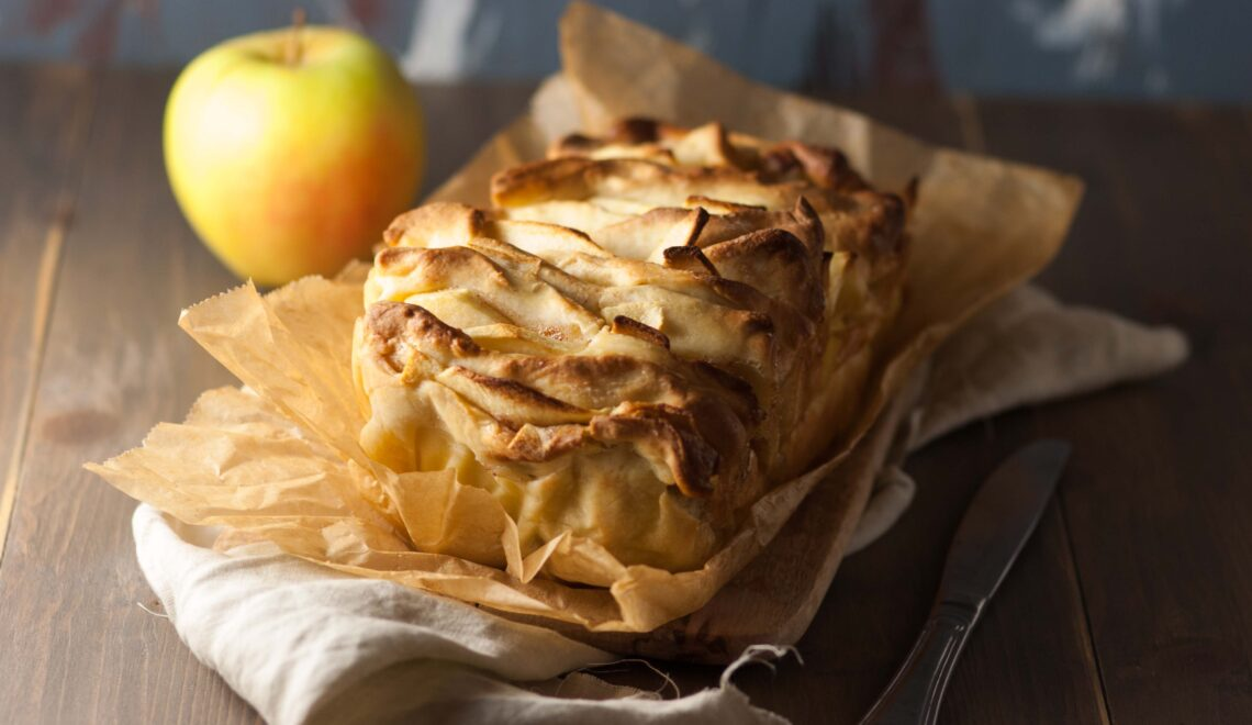 Pull apart bread alle mele e cannella