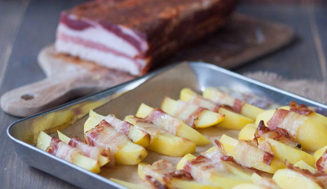 Patate arrosto al bacon