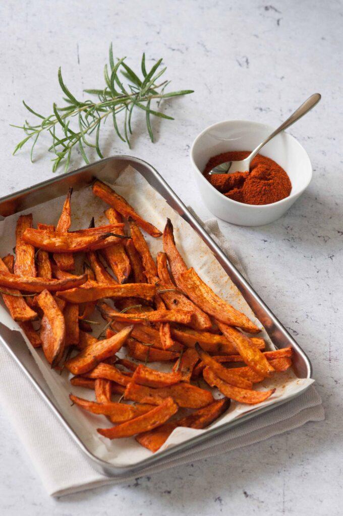 Patate dolci al forno alla paprika